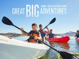 Great Big Adventures - Kayaking in Dubbo