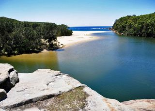 Wattamolla Beach, Sydney South