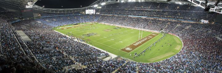 State of Origin Game 2, ANZ Stadium at Olympic Park, Sydney west