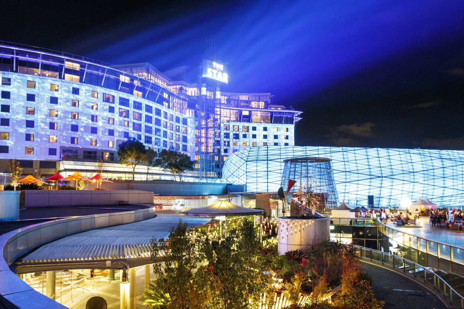 Star City Casino at Night, Pyrmont