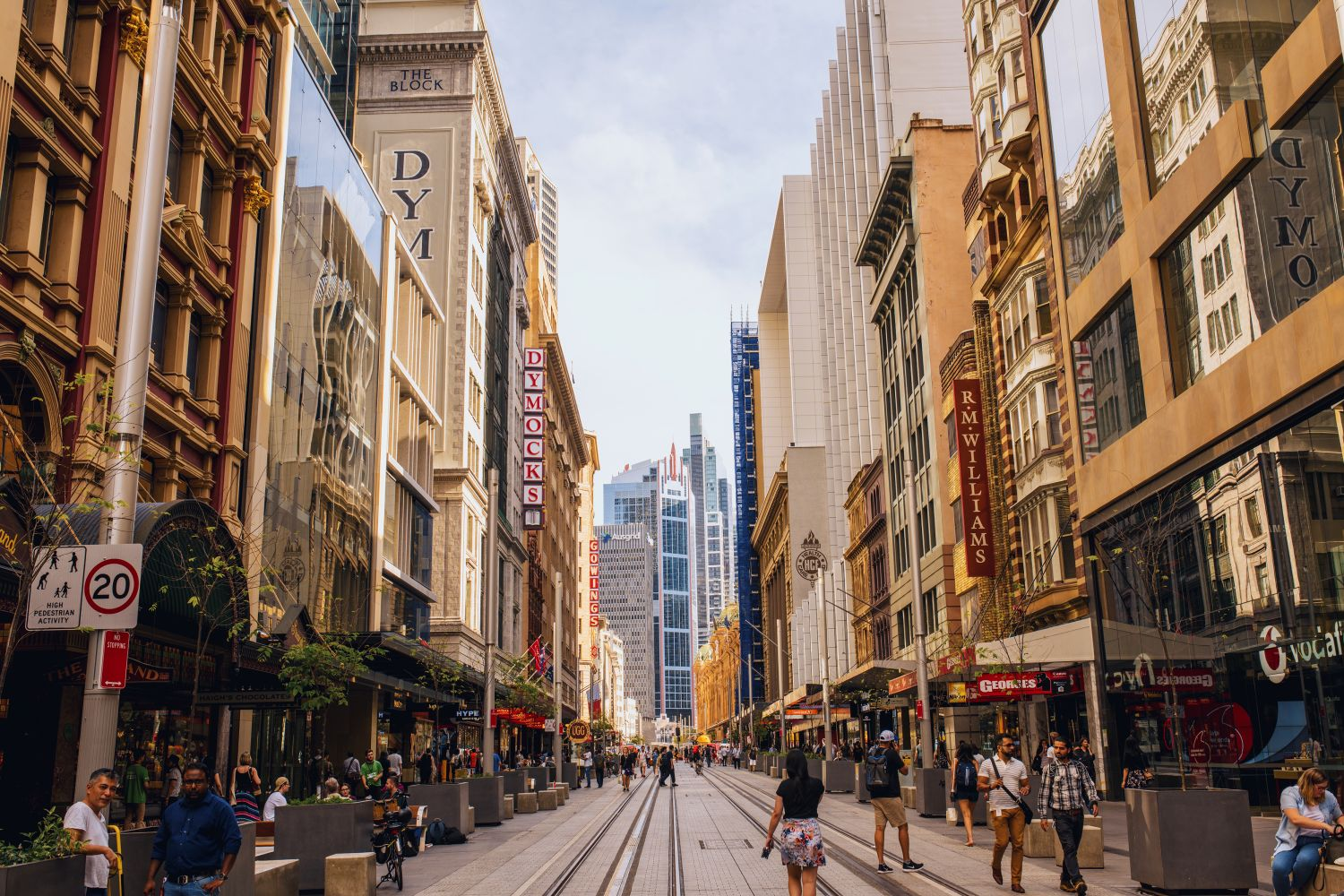Exploring the Sydney CBD