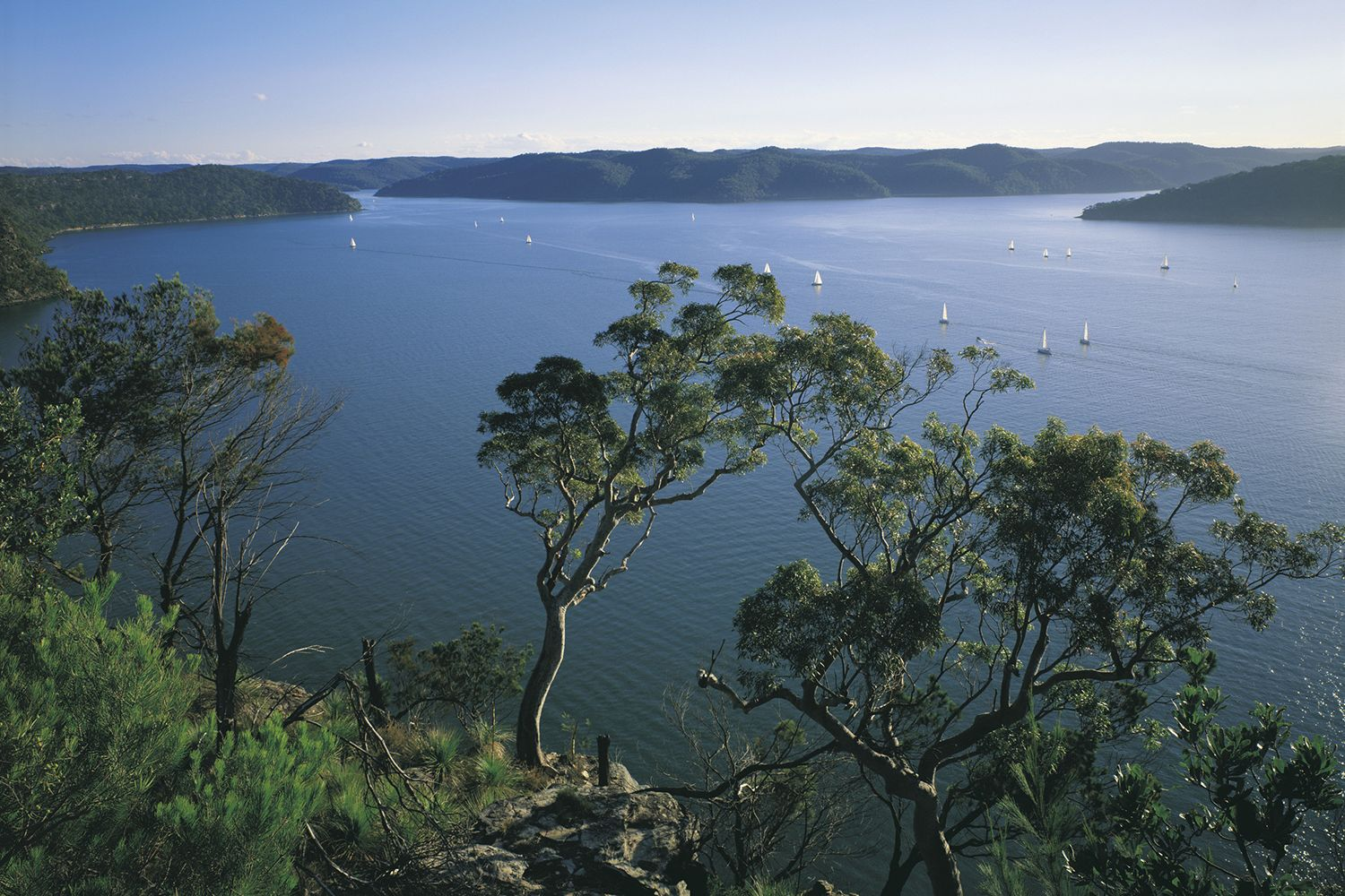Broken Bay from West Head, Ku ring gai Chase National Park, Sydney North