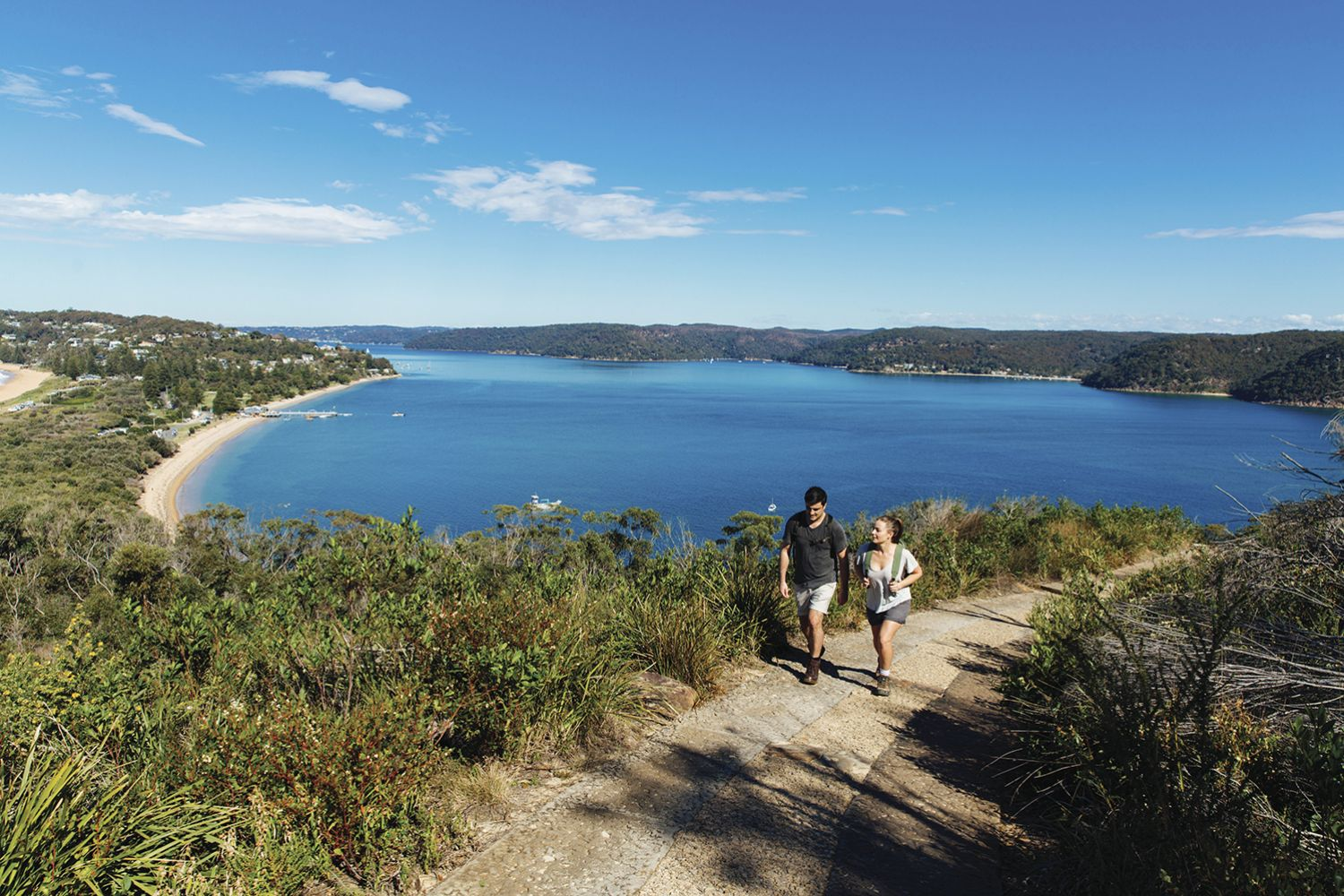 The Barrenjoey Lighthouse Walk in Palm Beach, Sydney North