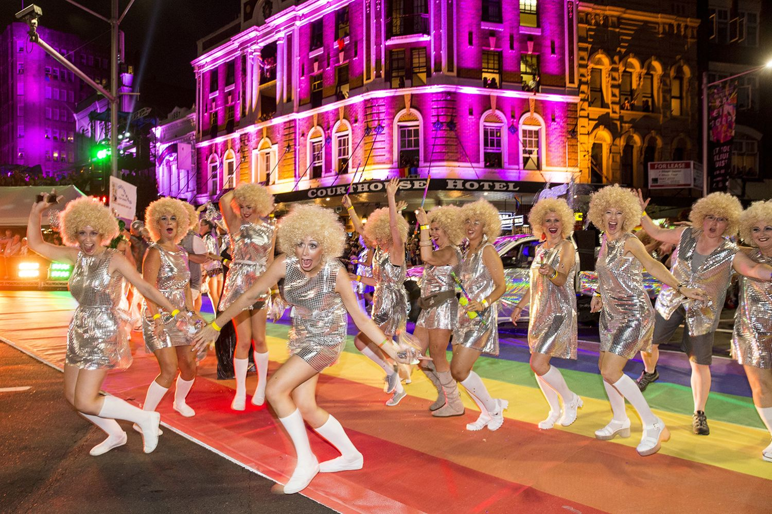 Sydney Gay and Lesbian Mardi Gras parade, Oxford Street Sydney