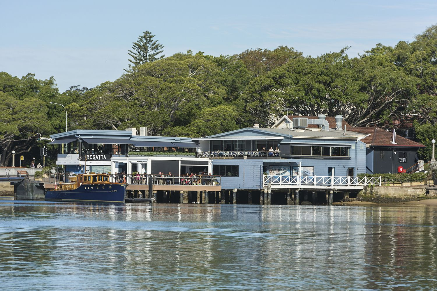 Harbourside dining in Rose Bay with Tide Cafe and Regatta Rose Bay Restaurant