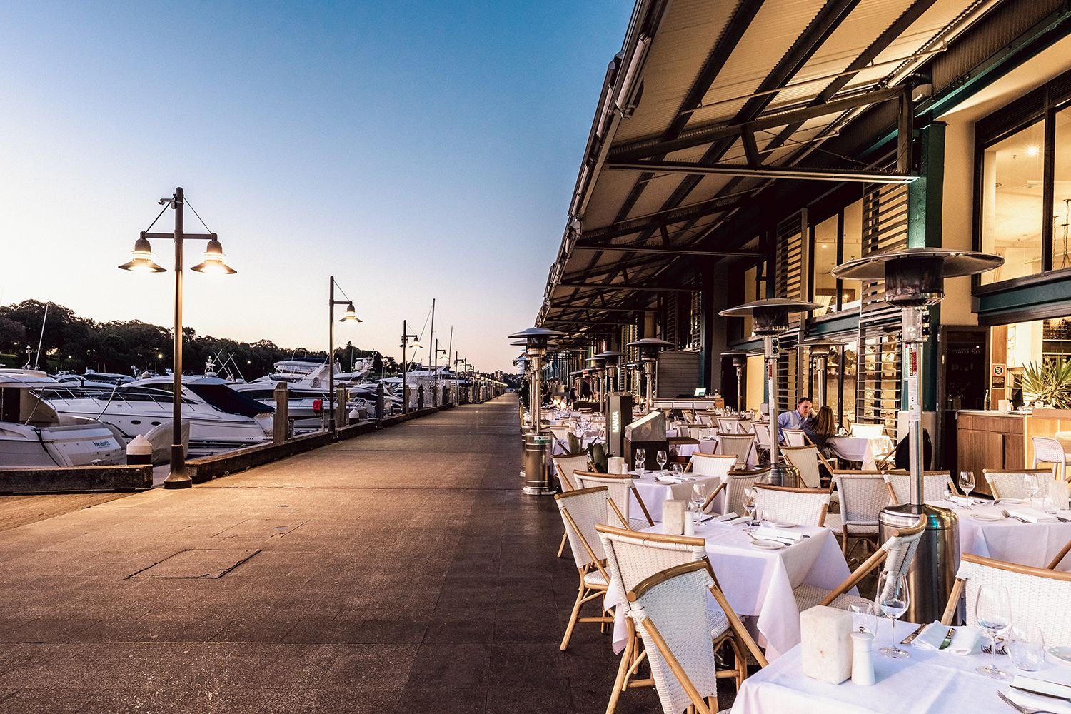 Manta Restaurant  at Potts Point and Woolloomooloo, Sydney City