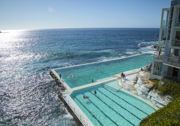 Bondi Icebergs Club at Sydney's Bondi Beach