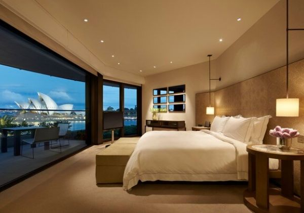 Park Hyatt Sydney - the bedroom