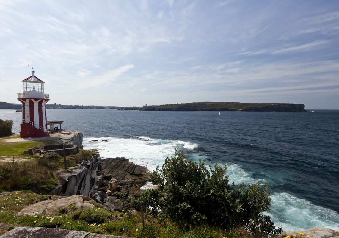 South Head at Watsons Bay in Sydney Harbour National Park