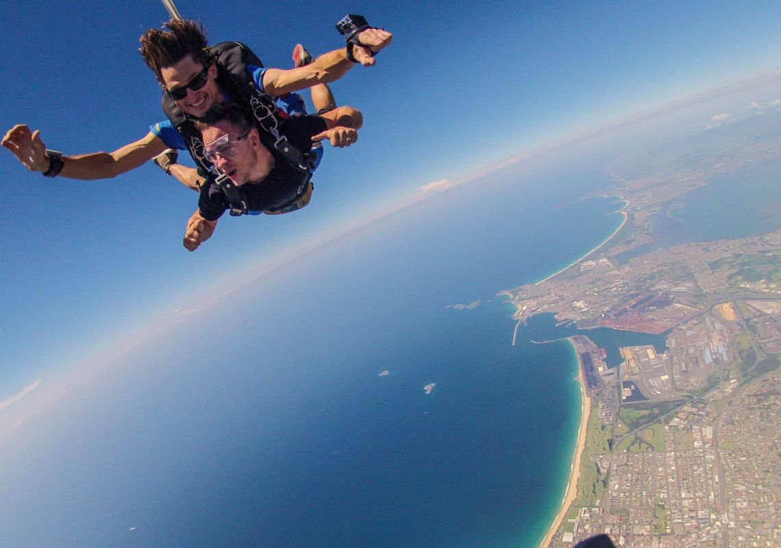Skydive the Beach, Wollongong