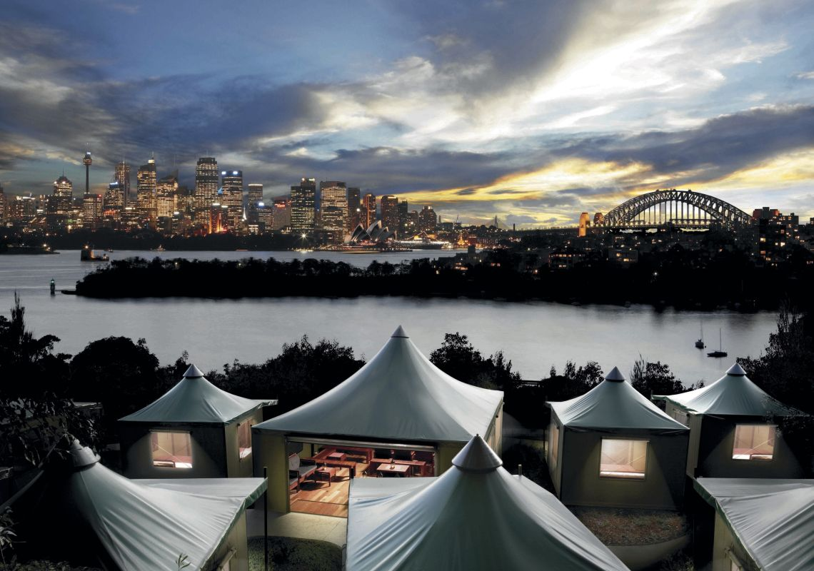 Accommodation overlooking Sydney Harbour for Taronga Zoo's 'Roar and Snore'