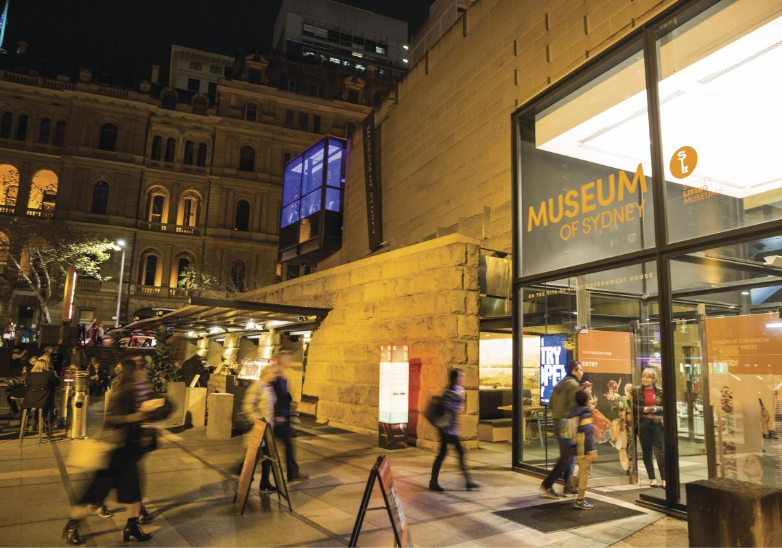 Museum Of Sydney Foyer : Sydney museums things to do museum of