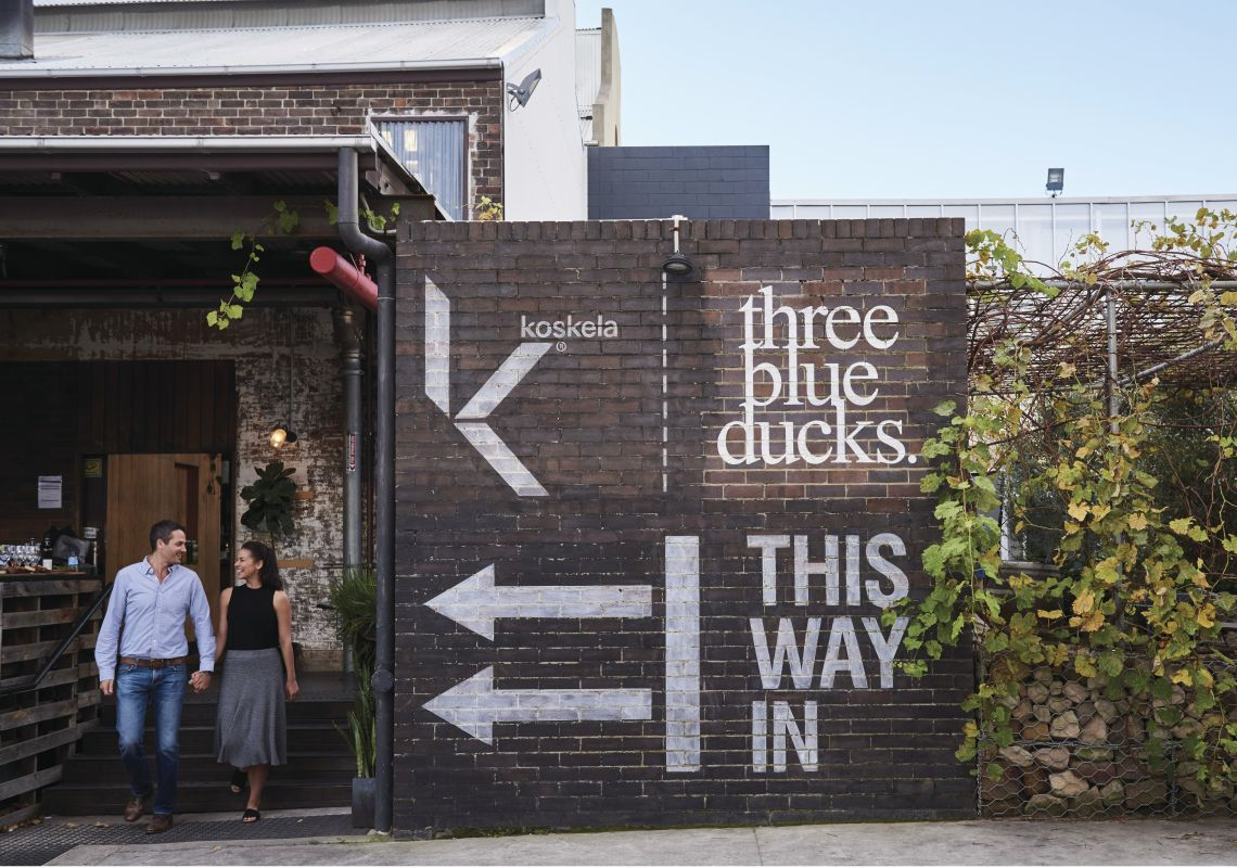 Three Blue Ducks, Rosebery