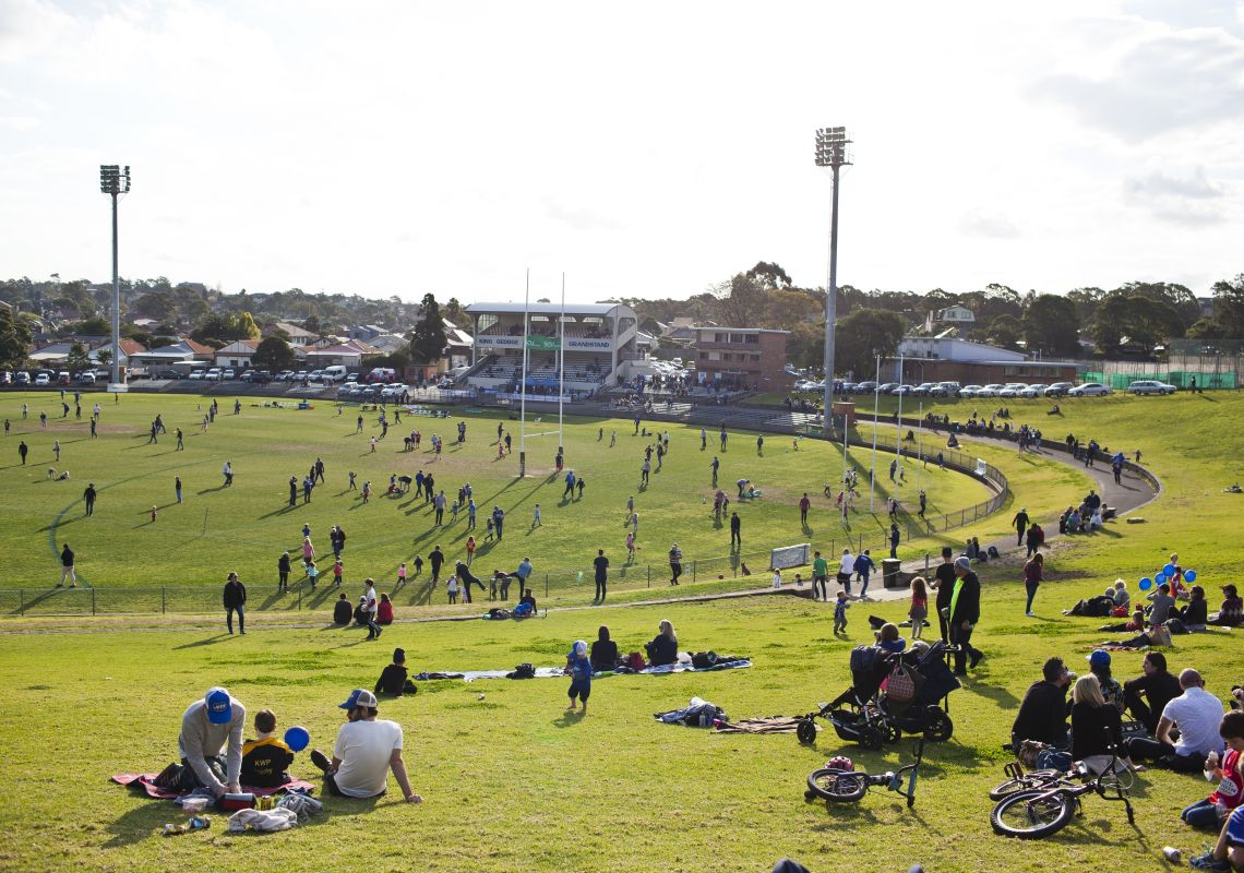 Marrickville Oval, Marrickville