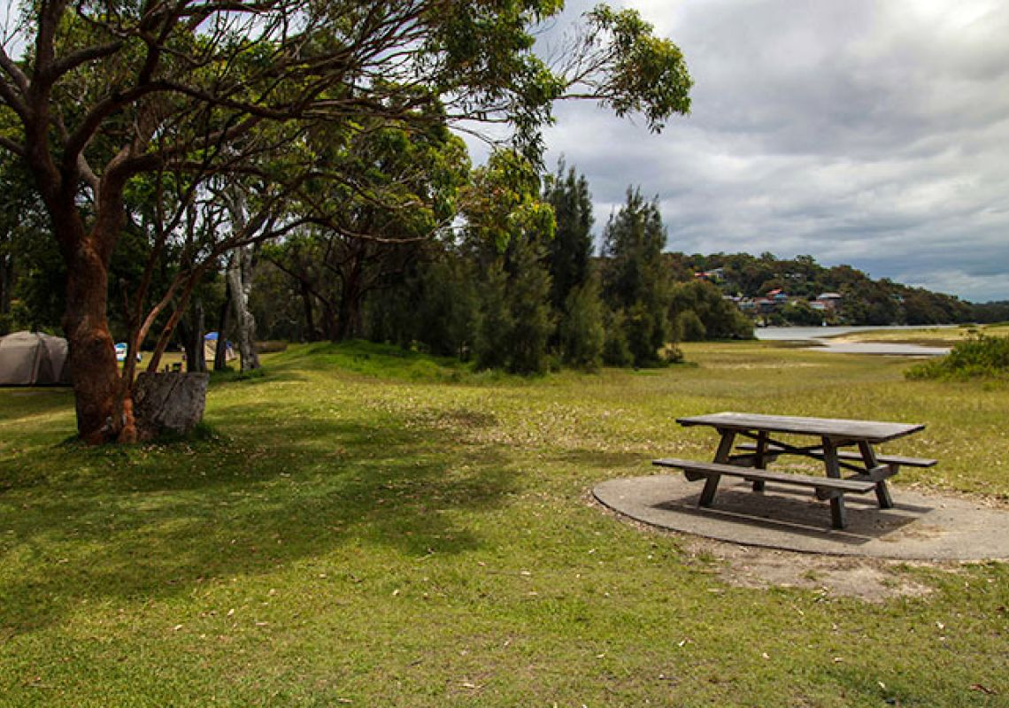 Bonnie Vale picnic area, Royal National Park.