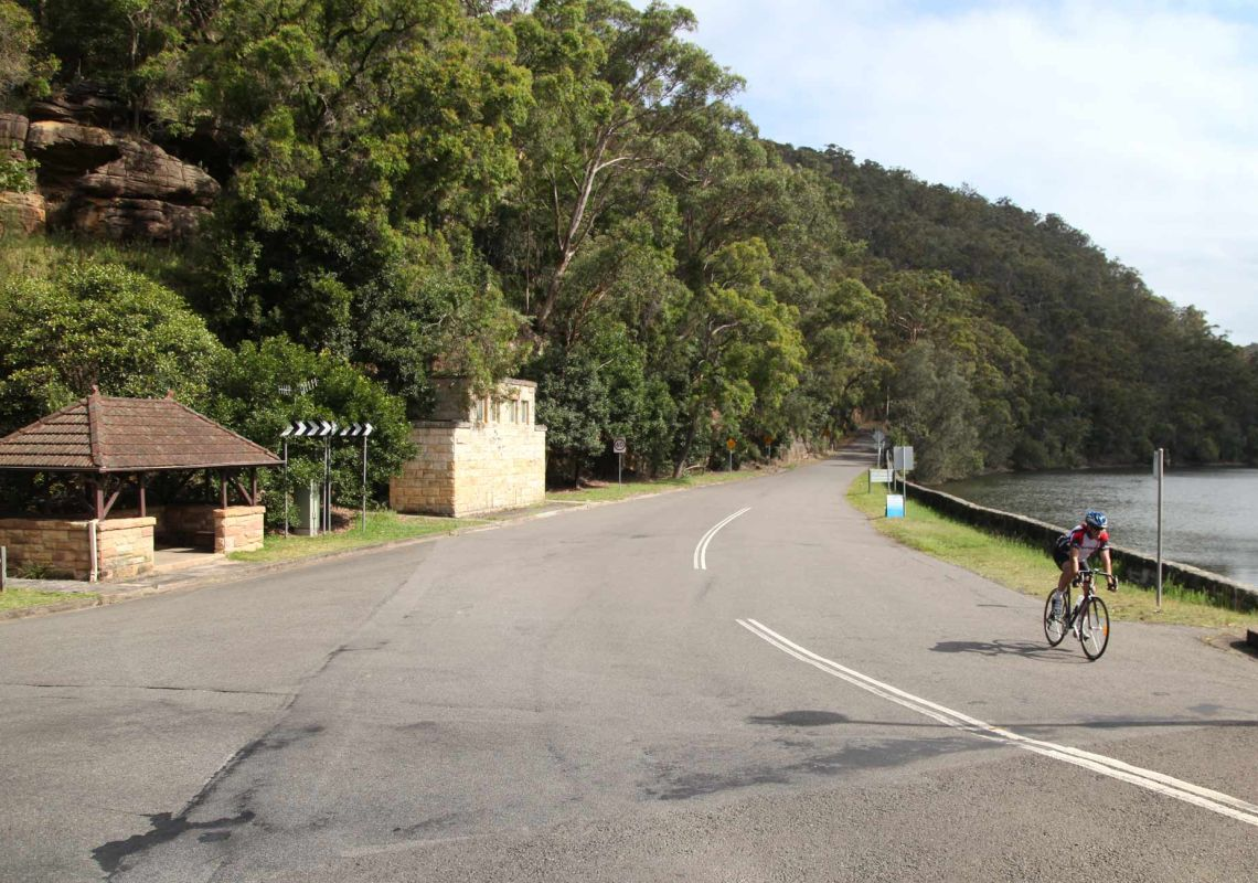 Mount Colah Station to Pymble Station cycle route, Ku-ring-gai Chase National Park