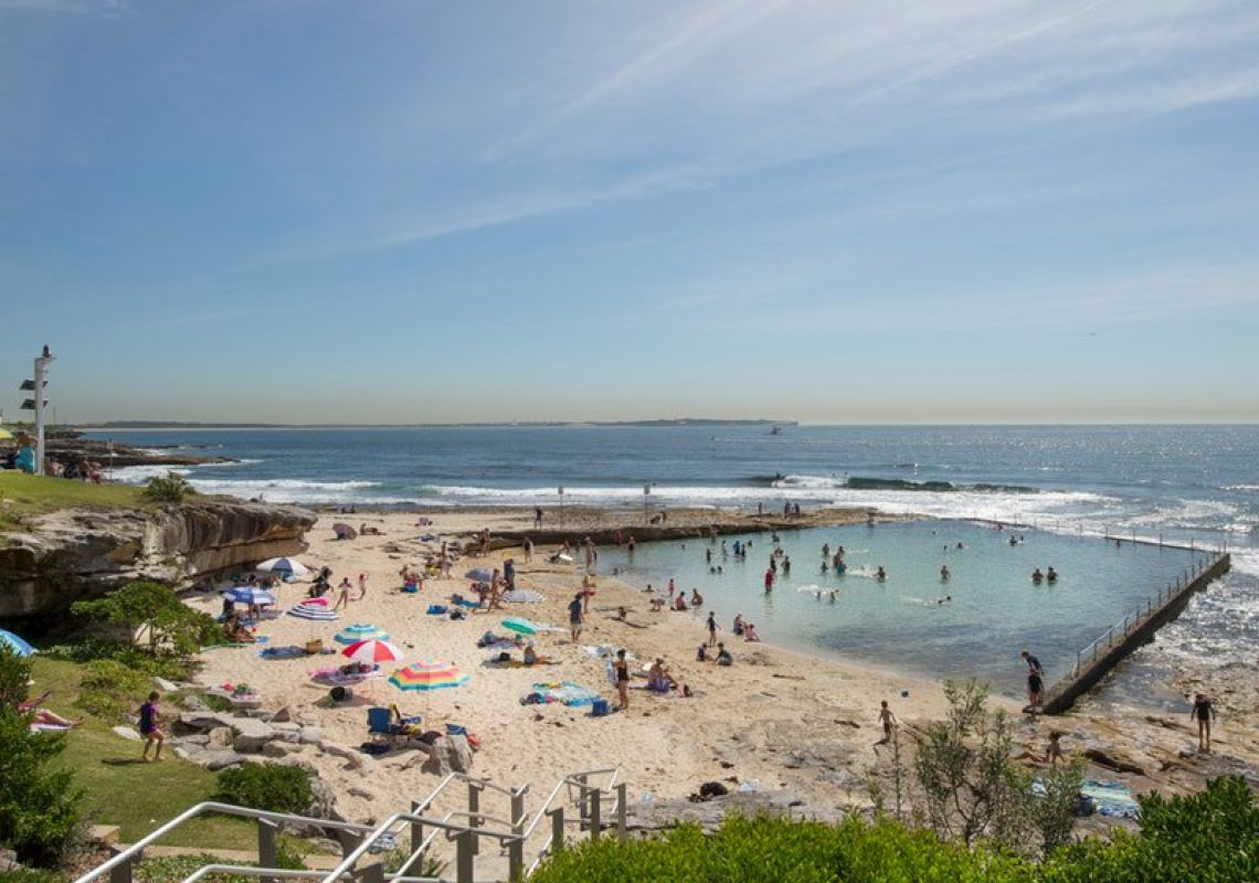 Oak Park Beach, Cronulla, Sydney South