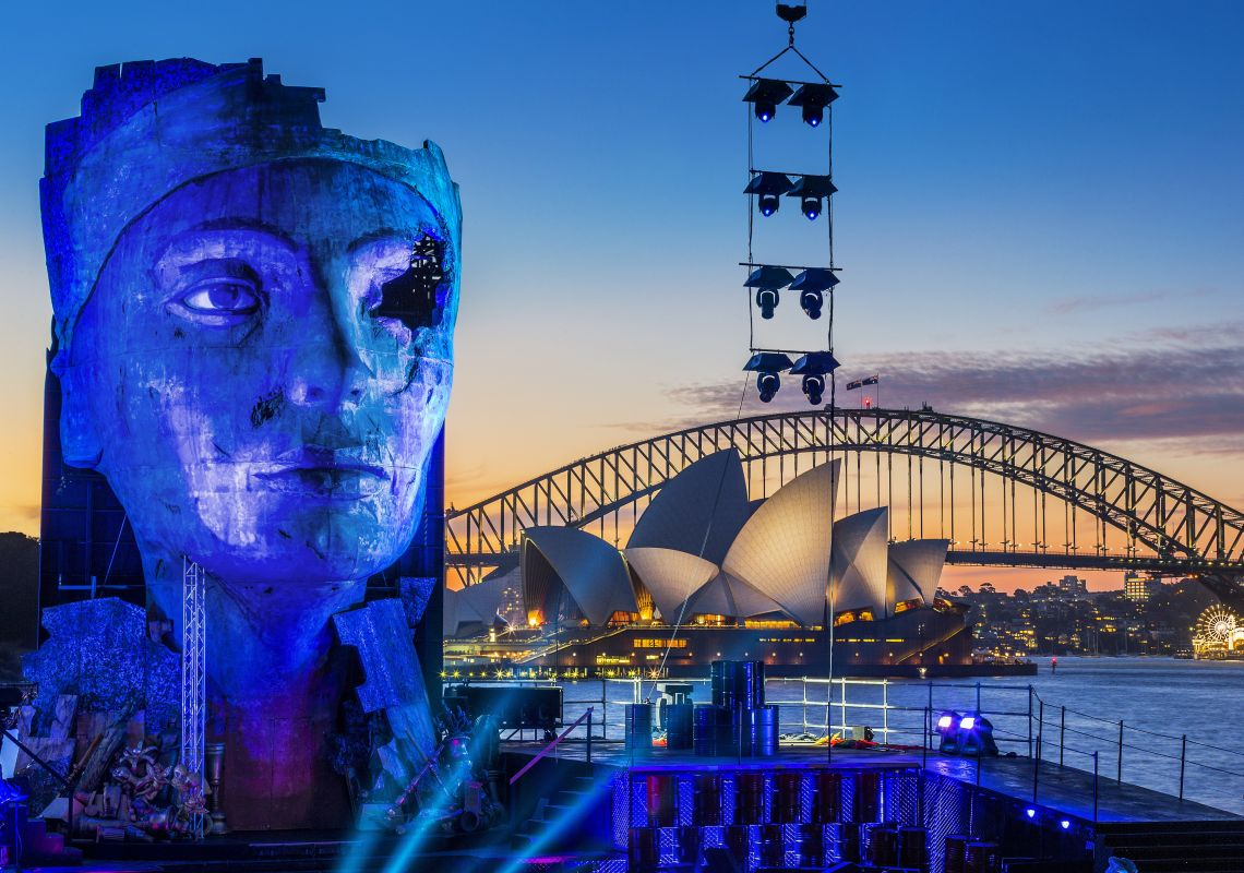 Aida, Handa Opera on Sydney Harbour