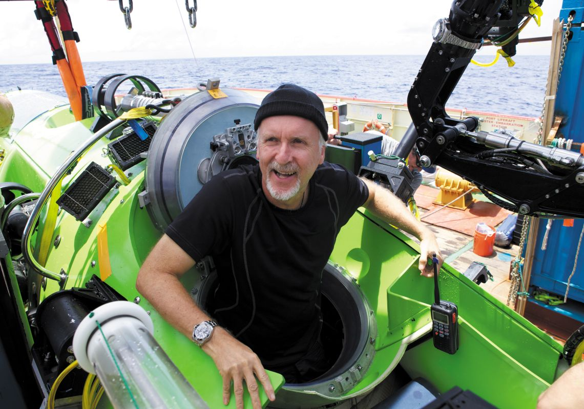 James Cameron - Photo Credit: Mark Thiessen - Nat Geo Creative
