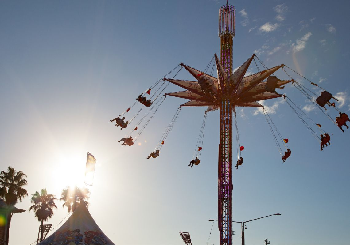 Rides at the Sydney Royal Easter Show, Sydney Olympic Park