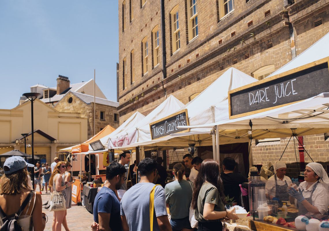 The Rocks Foodie Markets - Sydney
