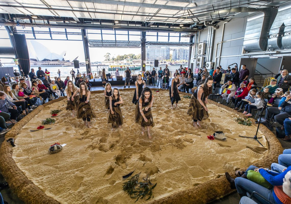 The 2018 National Indigenous NAIDOC Art Fair hosted by Blak Markets at the Overseas Passenger Terminal, Sydney