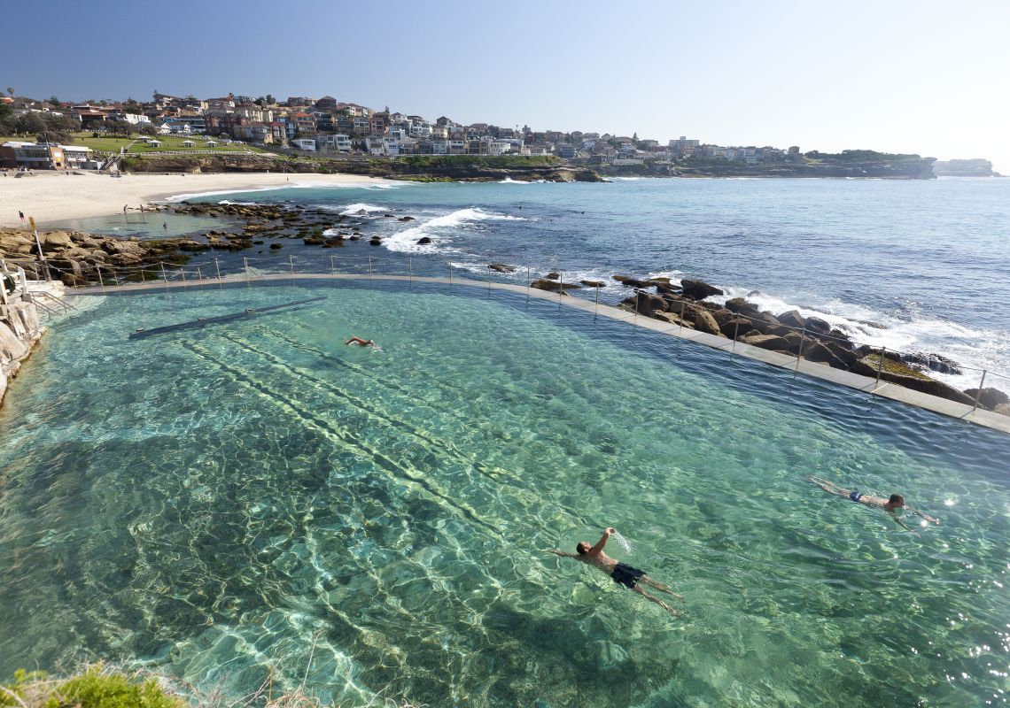 Bronte Beach and Baths, Sydney East