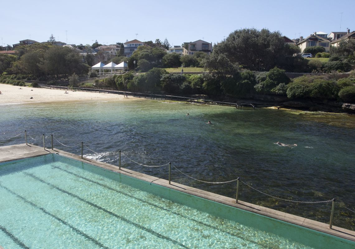 Clovelly beach and ocean pool, Sydney East