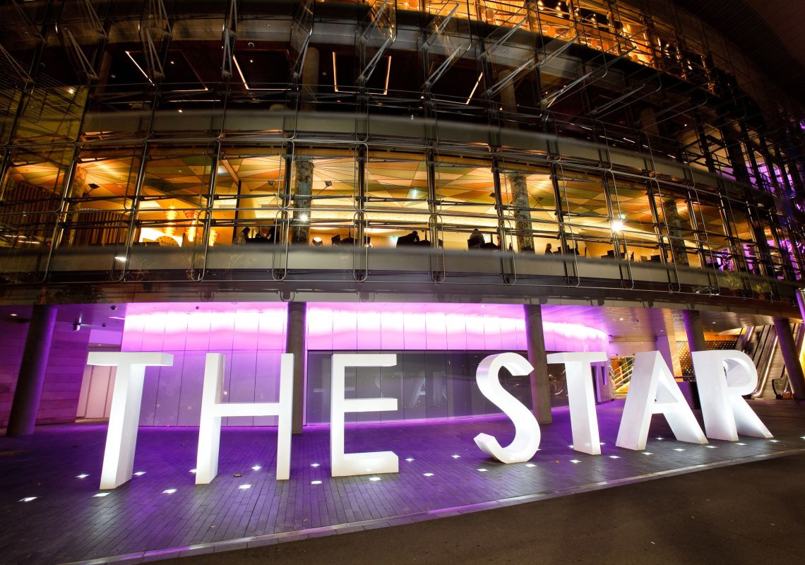 Entertainment, dining and accommodation at The Star in Pyrmont, Sydney City