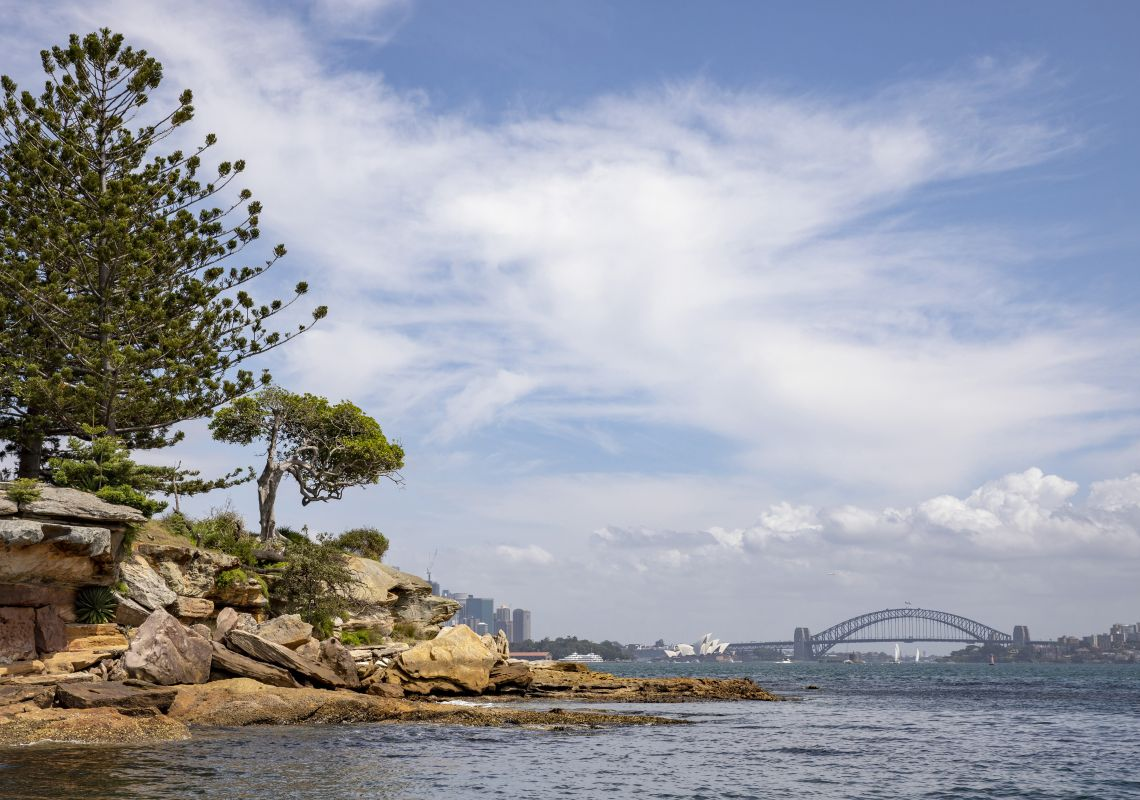 View across Sydney Harbour from Rose Bay, Sydney East