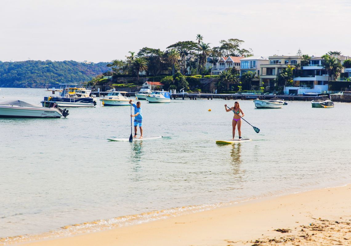 Stand-Up Paddle-Boarding in Watsons Bay
