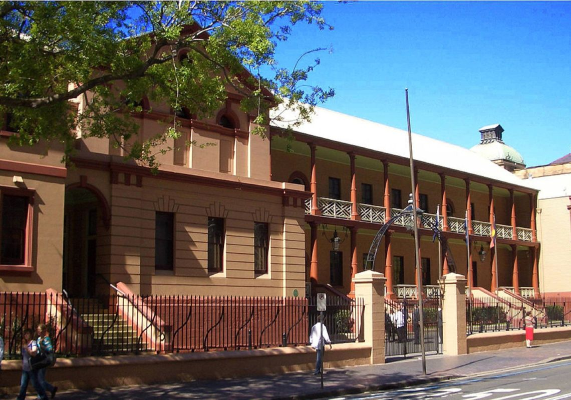 Parliament House in Sydney City,Sydney