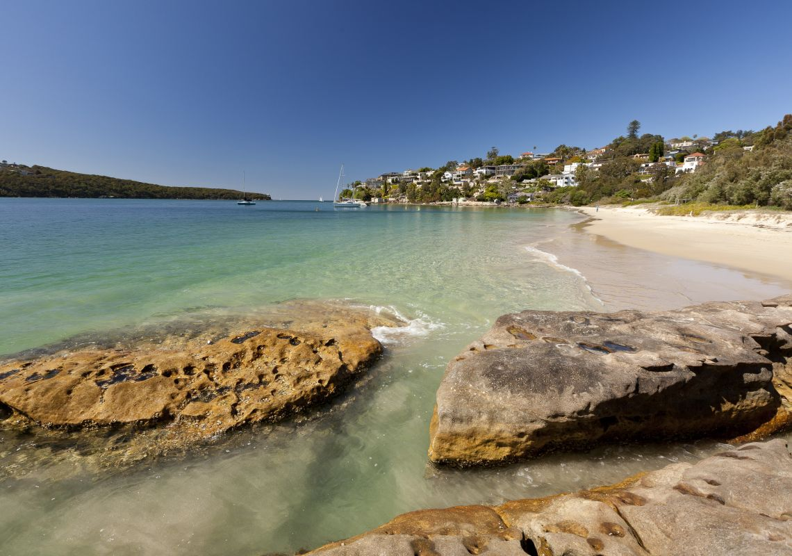 Chinaman's Beach in Mosman, Sydney North