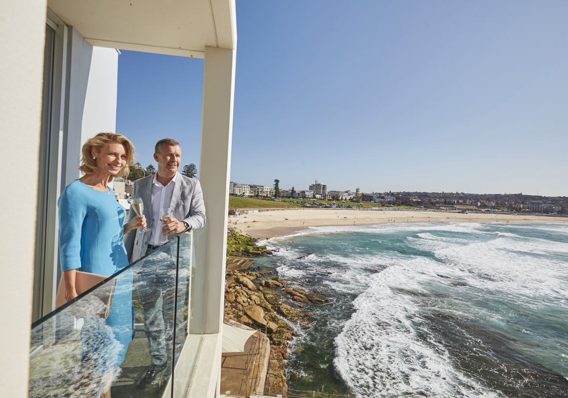 Scenic dining at Icebergs Dining Rooms and Bar in Bondi - Sydney east
