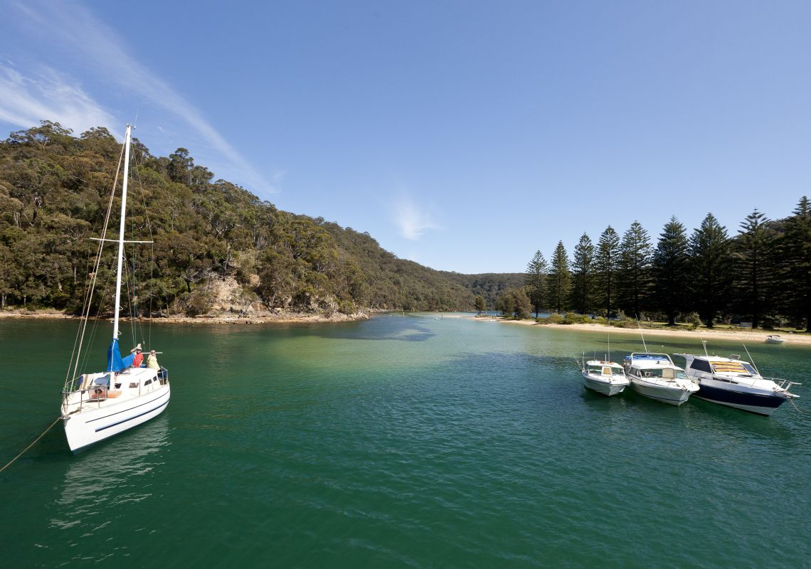 The Basin at Pittwater in Ku-ring-gai Chase National Park