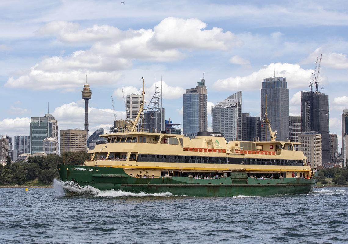 Summer in Sydney, Sailing on Sydney Harbour, Sydney City
