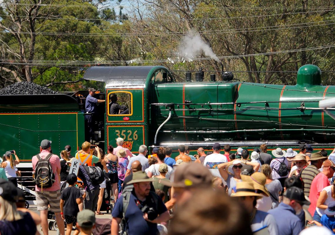 Thirlmere Festival of Steam in Thirlmere, Sydney west