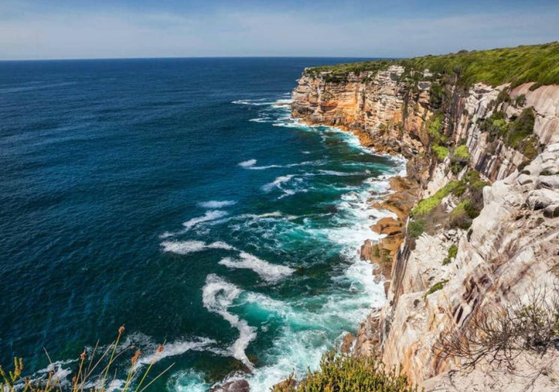 Royal National Park in Sydney South
