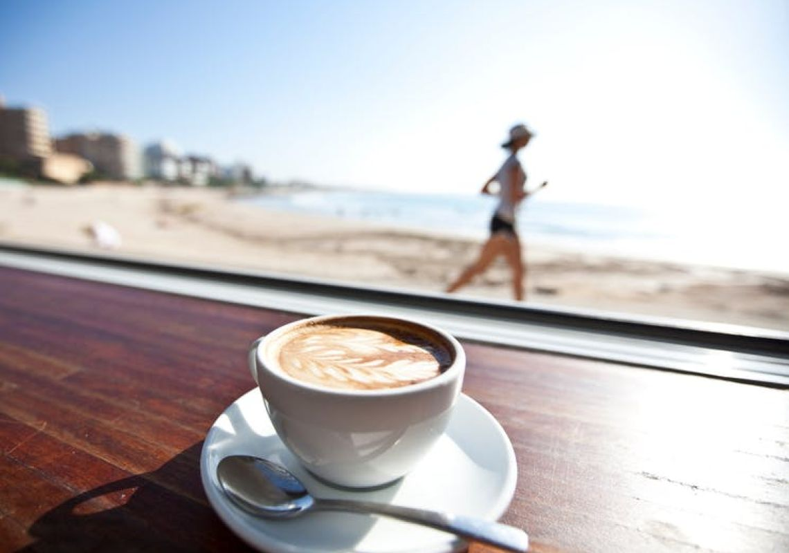 Mornings at Zimzala on the Beach at Cronulla, Sydney South