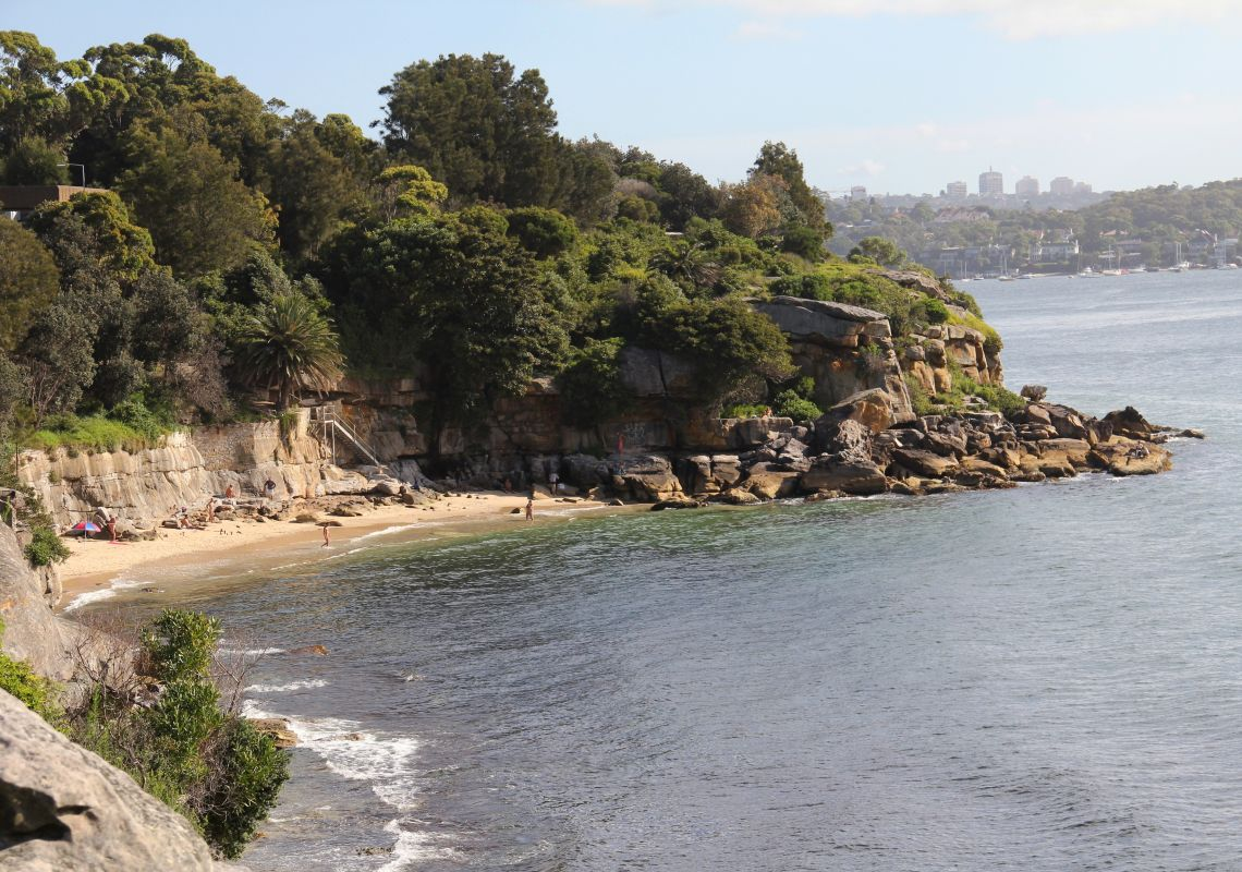 Lady Bay Beach in  Watsons Bay