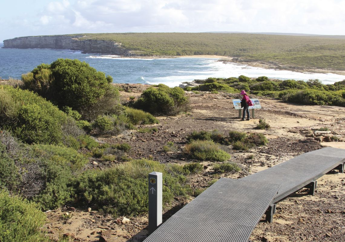 Royal Coastal Walk between Bundeena and Marley Beach Royal National Park