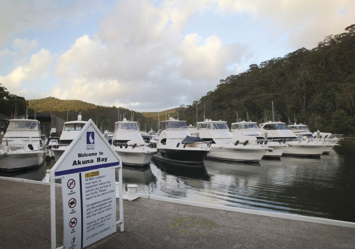 d'Albora Marinas at Akuna Bay, Ku-ring-gai Chase National Park