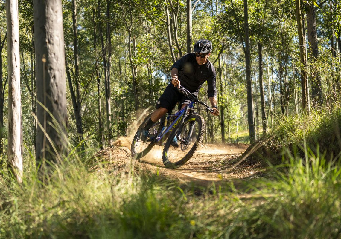 Wylde MTB Trail at Cecil Park, Sydney West