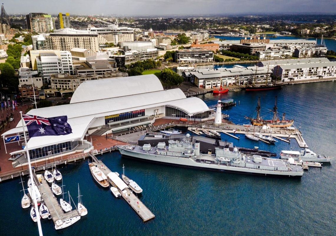 Australian National Maritime Museum at  Darling Harbour, Sydney