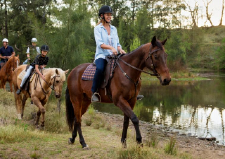 Horseriding in the Hawkesbury Area