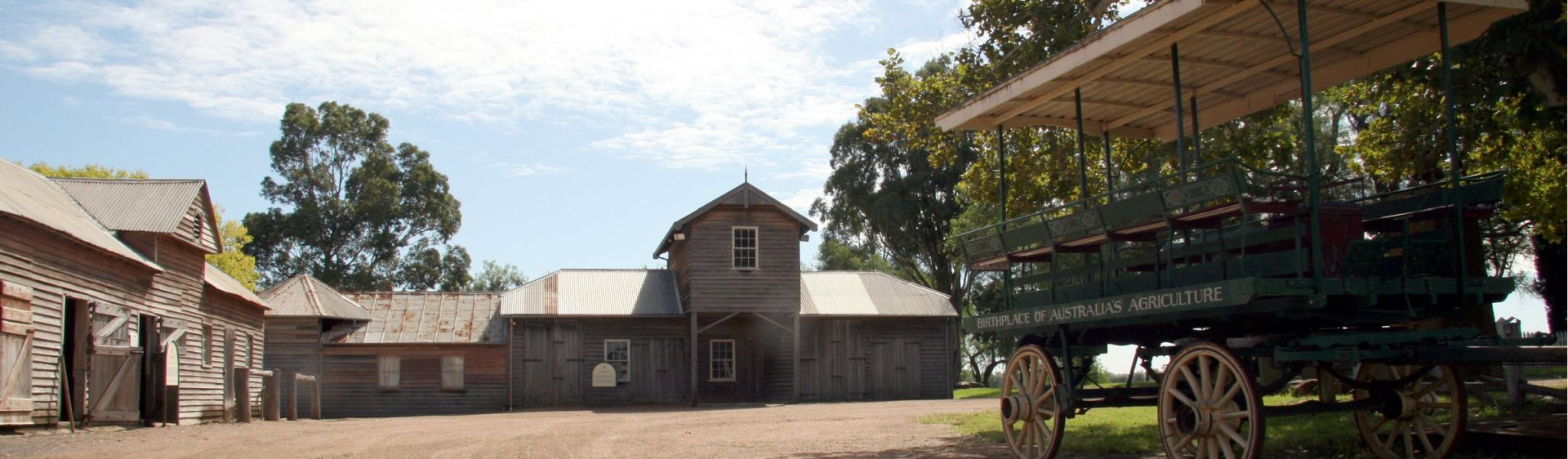 Farm houses at Belgenny Farm, Camden