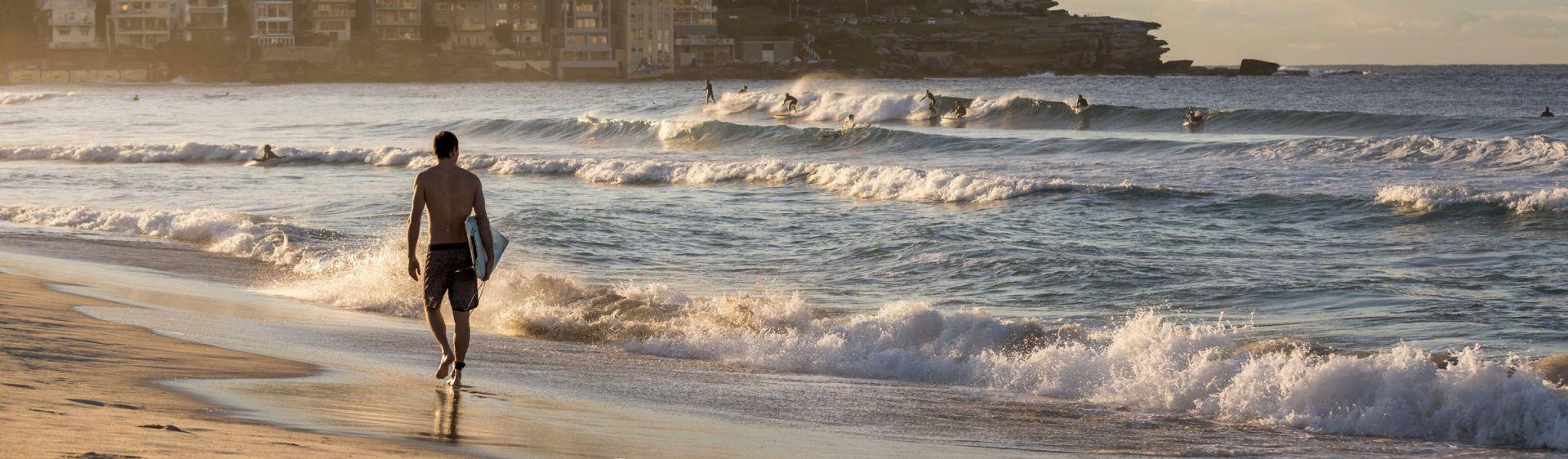 Sydney city to bondi beach