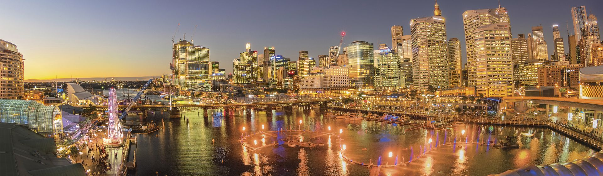 Darling Harbour, Vivid Sydney