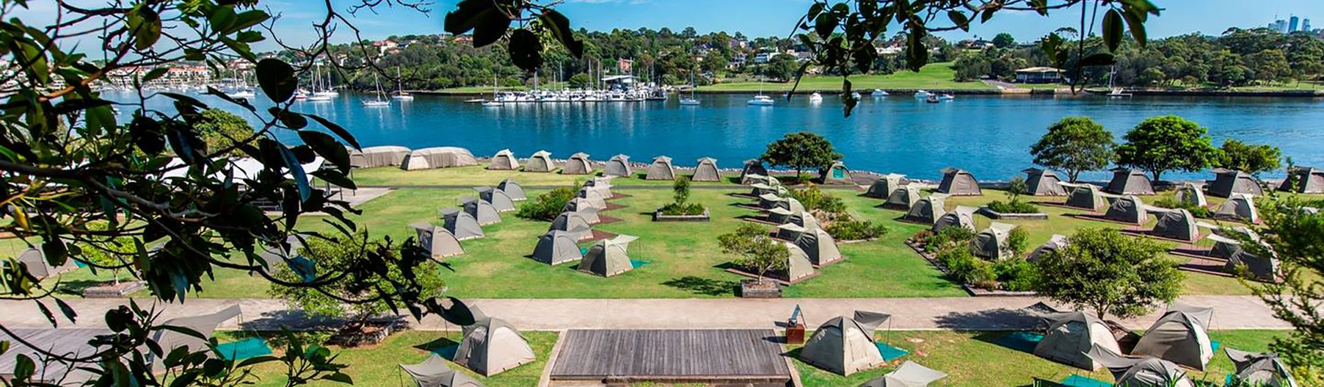 Camping on Cockatoo Island - Sydney Harbour
