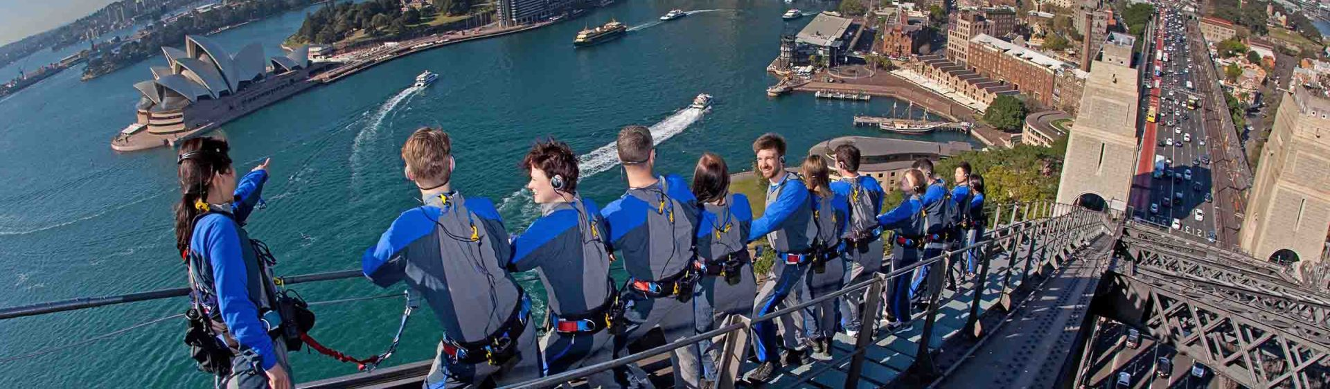 BridgeClimb on the Sydney Harbour Bridge